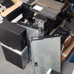Pile of scrap hardware